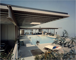 Bailey House Mid Century Modern Icon   by MikePresser Arts