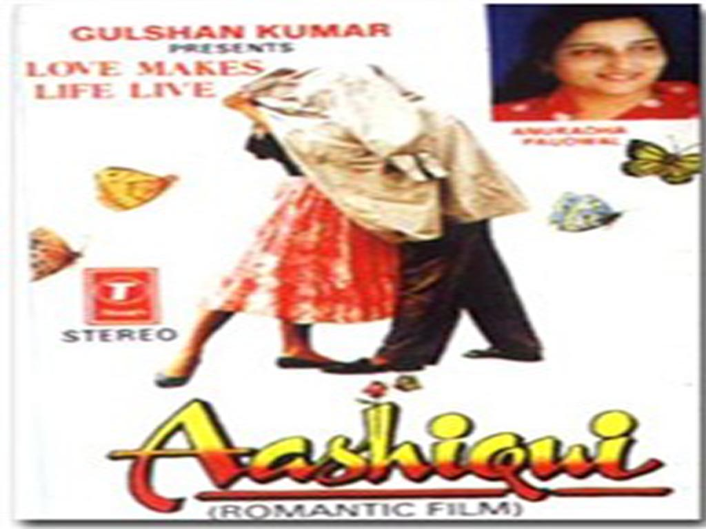 Aashiqui is a 1990 bollywood romance, particularly noted for its music