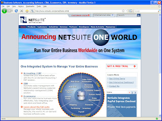 NetSuite On-Demand SaaS ERP