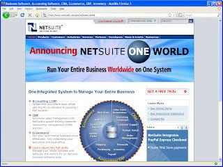 NetSuite On-Demand SaaS ERP