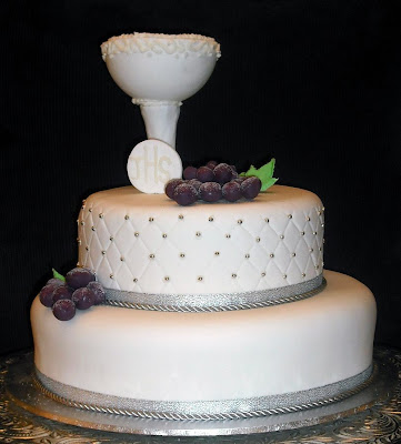 Holy Communion Cakes for Boys