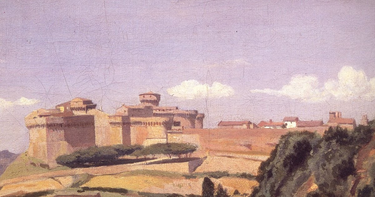 Simo Capecchi In Viaggio Col Taccuino Corot A Volterra