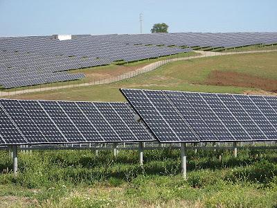 Photovoltaic installation in Amareleja, Portugal