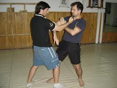 Instructor Tibu Padilla y Sifu Crivellari