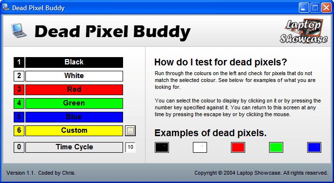 Dead Pixel Buddy