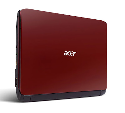 Aspire One 532h red