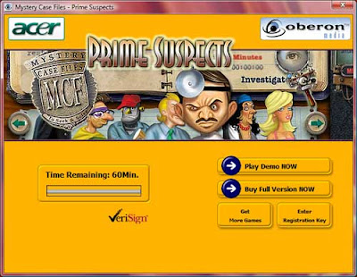 Acer GameZone screenshot