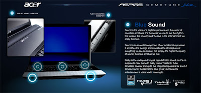 Acer Aspire 6920G and 8920G Acer Tuba CineBass Booster for True 5.1 Channel Surround Sound Output on Windows XP