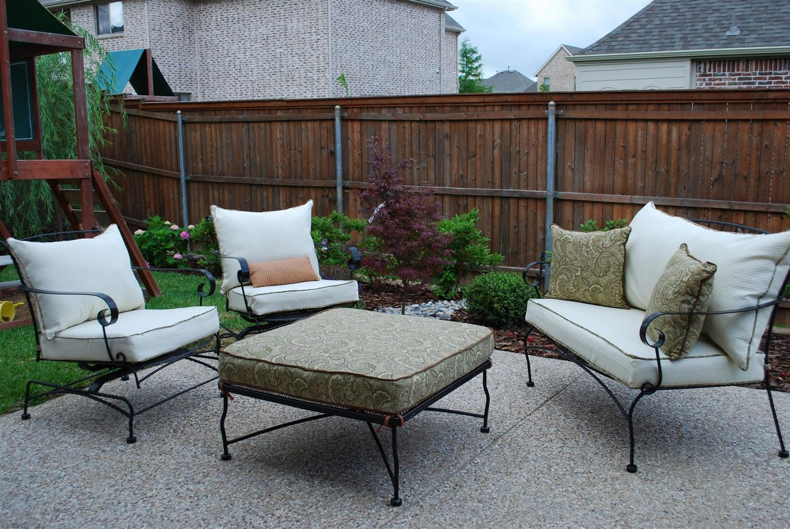 craftyc0rn3r patio furniture reupholstering