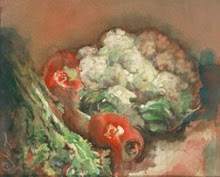 Cauliflower, Tomatoes and Celery 2004