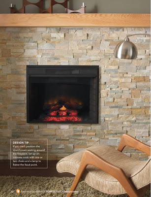 Faux Stone Fireplace Ideas. Get (faux) stoned