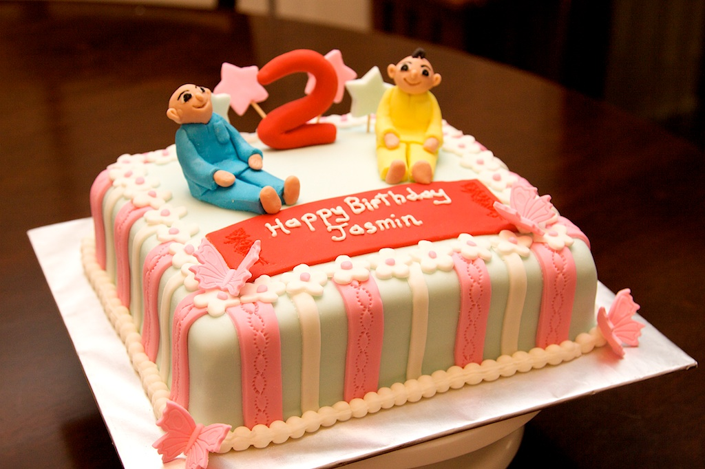 Pink Oven Cakes and Cookies: Upin and Ipin Cake