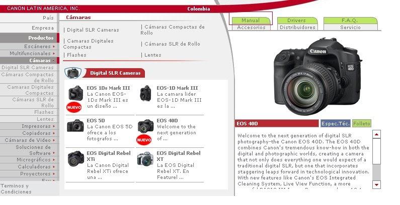 www videoimagen es manual en espa ol de la canon eos 40d rh videoimagen blogspot com Canon EOS 40D Photography Canon EOS 10D