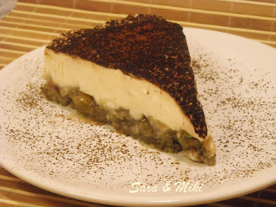 Articole culinare : Banane pe pat de biscuiti si crema de frisca