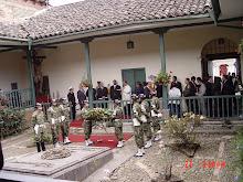 Homenaje en la Casa Museo - Popayan