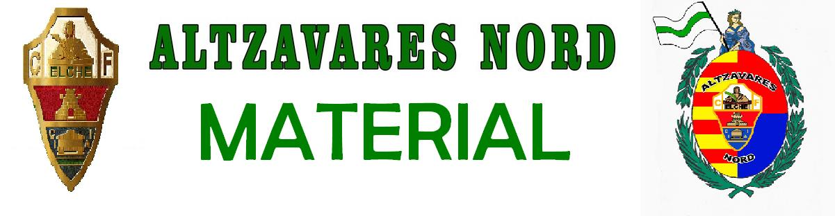 MATERIAL ALTZAVARES NORD