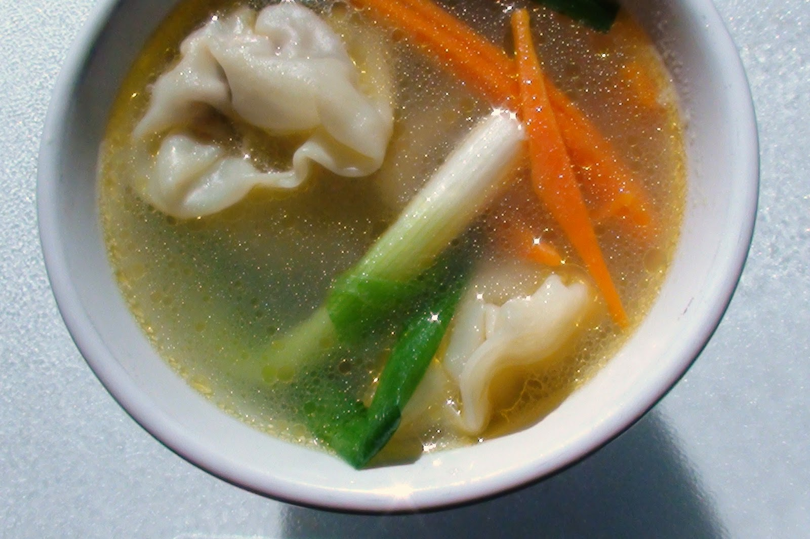 zsuzsa is in the kitchen: CHICKEN WONTON SOUP
