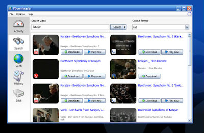 Descarga videos de YouTube con vdownloader