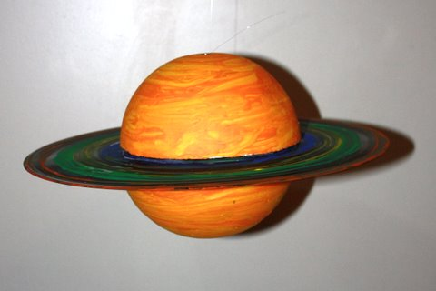 color planet saturn craft project - photo #13