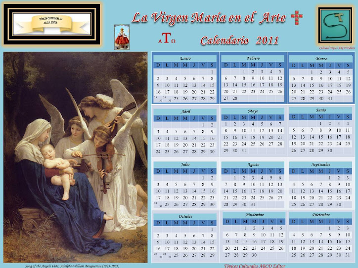 Calendario Tpicos Culturales 2011