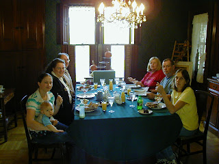 Gathered Around the Table for Breakfast