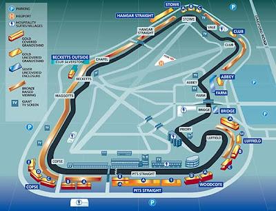 CIRCUITOS F1: Silverstone - Inglaterra -