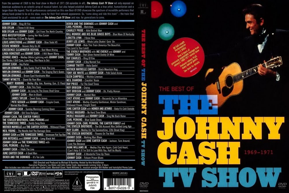 Linda Ronstadt,la gran dama del Country Rock The+Johnny+Cash+TV+Show+R1+Front