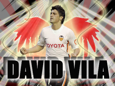 david villa soccer football