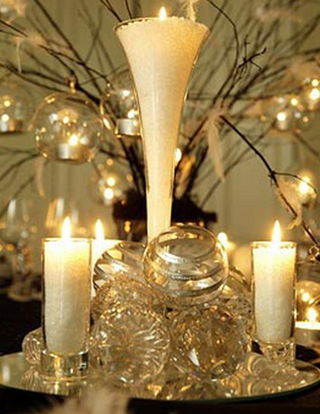 ... This would work well as a table centerpiece for your Christmas table