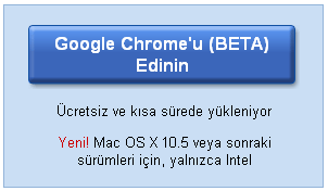 Google Chrome Mac versiyonu