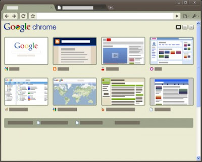 Google Chrome Earthy Tema