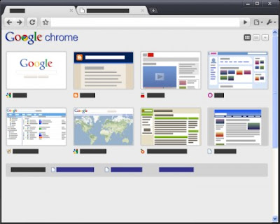 Google Chrome Greyscale Tema