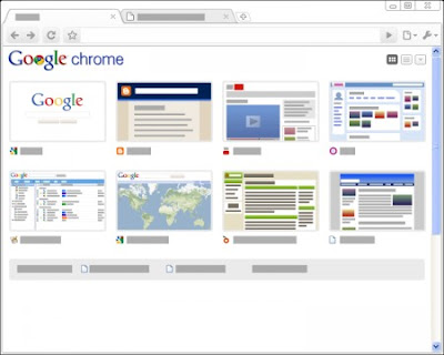 Google Chrome Minimal Tema
