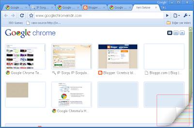 Google Chrome Sanatçılara Ait Temalar