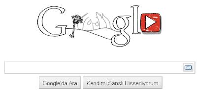 Google John Lennon Logosu