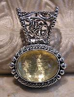 Silver Stone Pendant