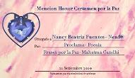 Memción de honor_certamen por la Paz