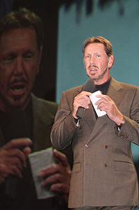 Larry Ellison, Dragon Slayer Extraordinaire