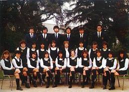 FOTO A LETRAS PROMOCION 1985