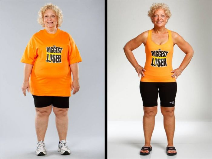 Sport Life The Biggest Loser Before And After Show