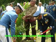 TNI AU Menanam Untuk Memasyarakatkan Green Economy