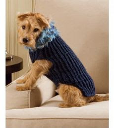 Dog Sweater Patterns Knit : Pegs & Needles: Loom Knit Dog sweater