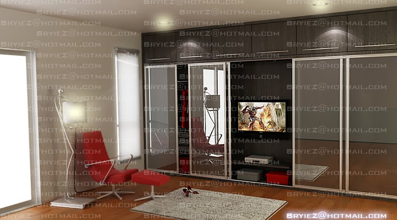 Bryiez Interior Space Design A Master Bedroom Wardrobe