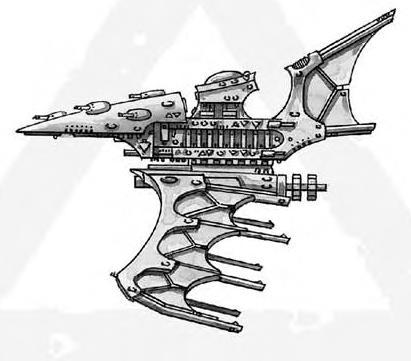 Battlefleet Gothic Eldar Nightshade
