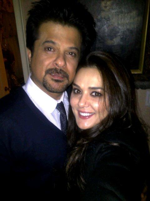 Preity Zinta And Anil Kapoor Spotted Together In Toronto