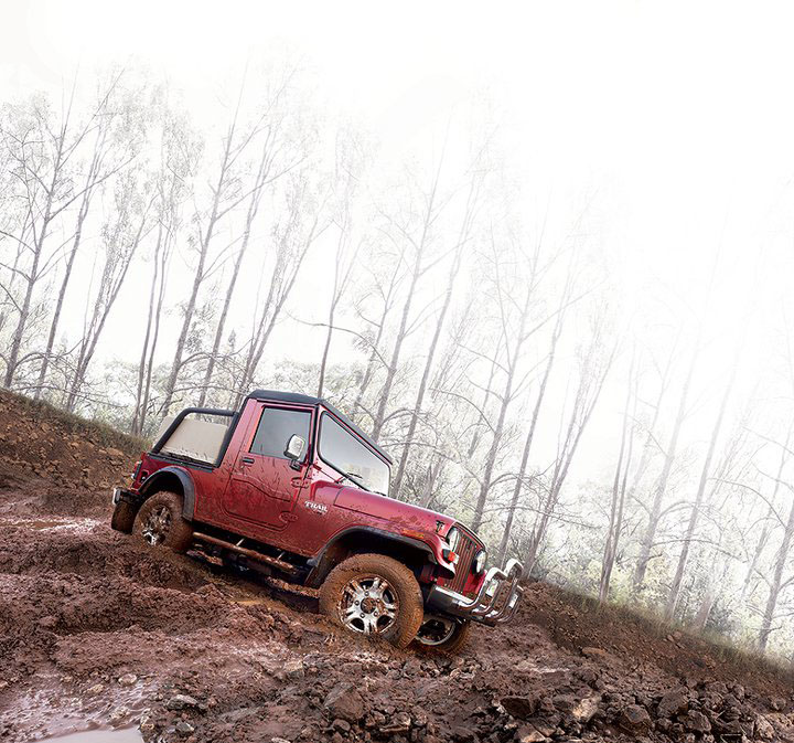 Car Types  Mahindra Thar 4X4 Off roader   Pitures  Wallpapers