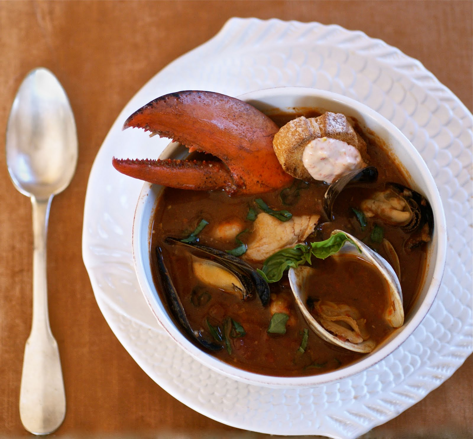 bouillabaisse with rouille - Fish Stew Ina Garten