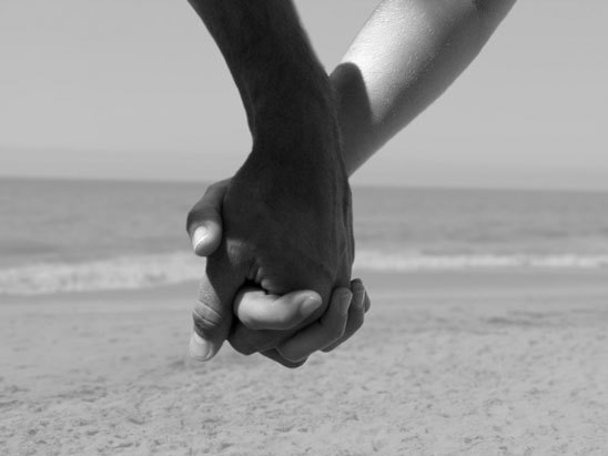 holding hands black and white photography. like the black and white pictures of them holding hands and that stuff.