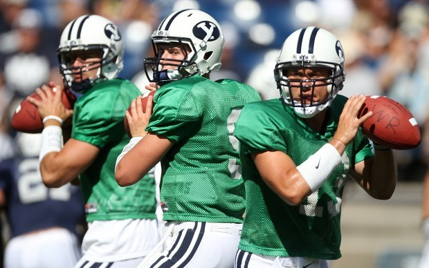 two BYU qbs