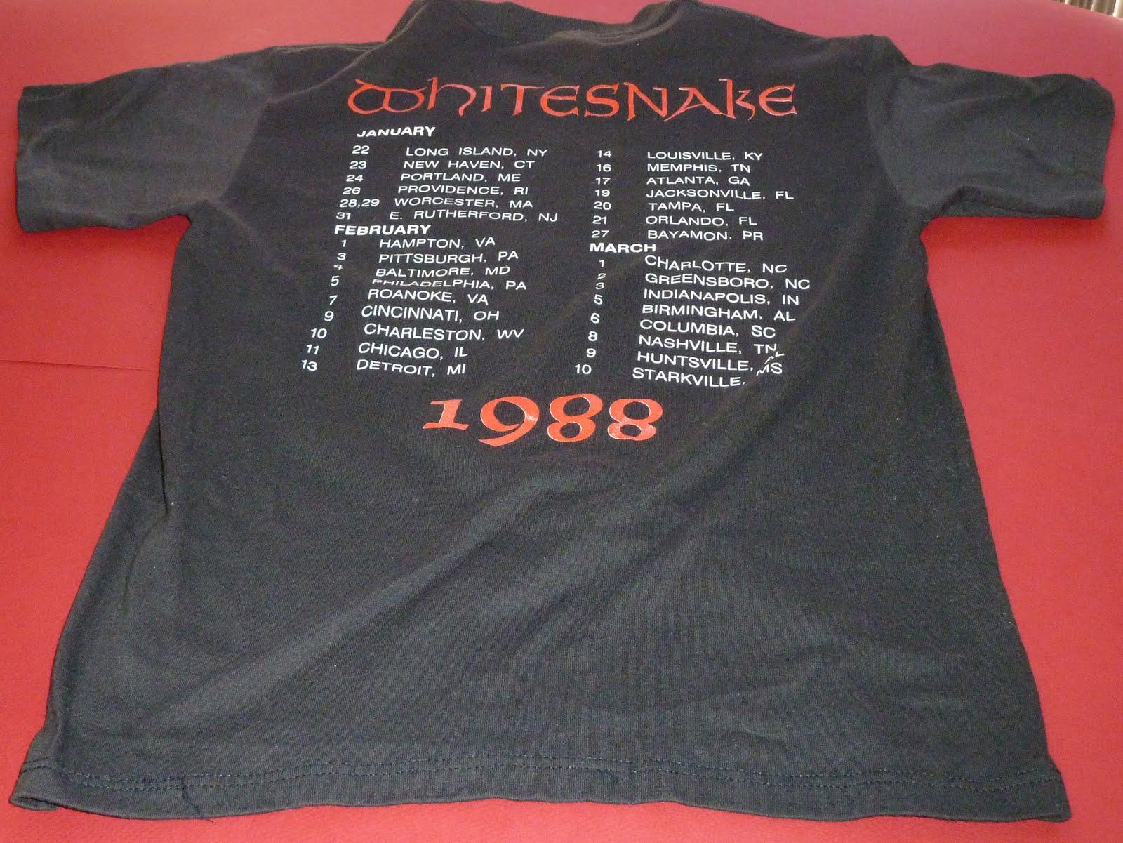 T shirt whitesnake - White Snake